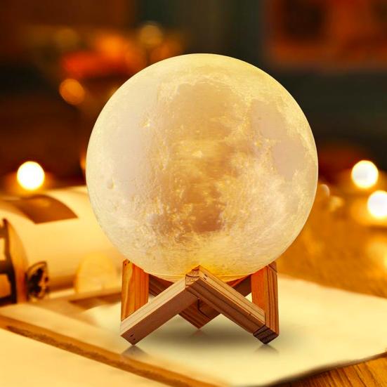 լուսին լամպ լեդ լուսամփոփ